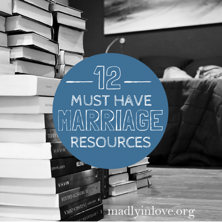 12 marriage resources