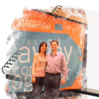 """ALT=""""Zerrin and I at A Week-end to Remember marriage conference."""""""