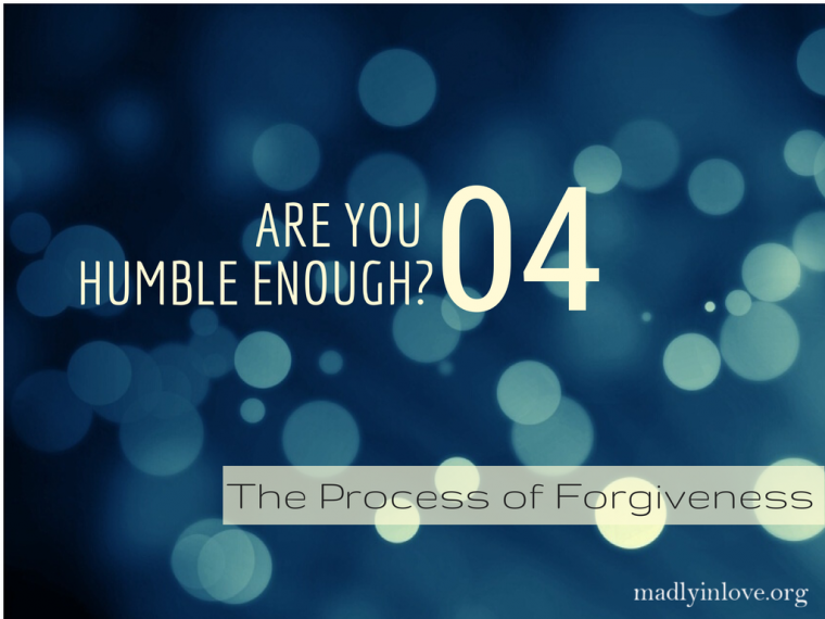 The Process of Forgiveness Step 4