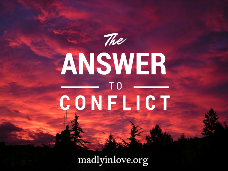 ANSWER to conflict