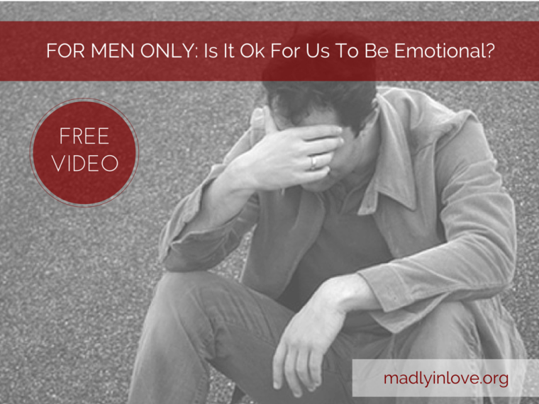 Men ok emotional?